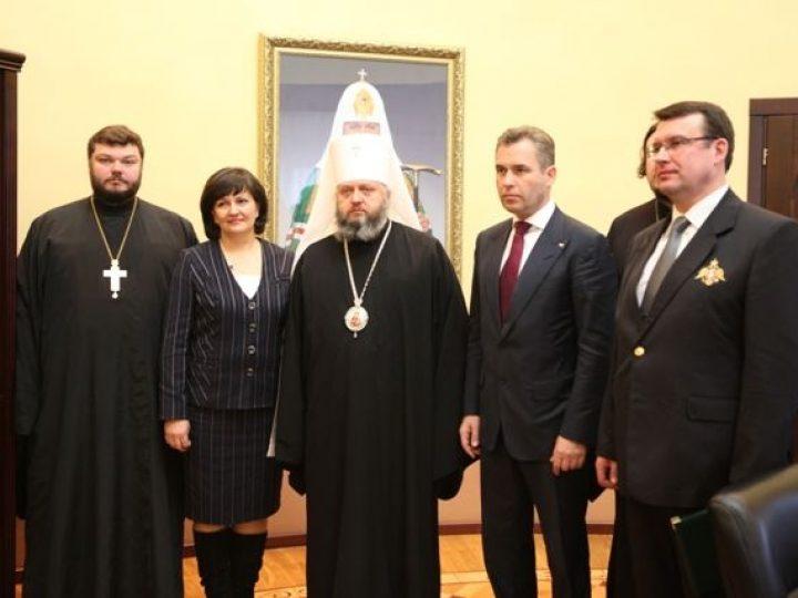 Глава Кузбасской митрополии провел встречу с Павлом Астаховым