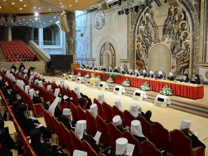 Кузбасские архиереи участвуют в Освященном Архиерейском Соборе Русской Православной Церкви
