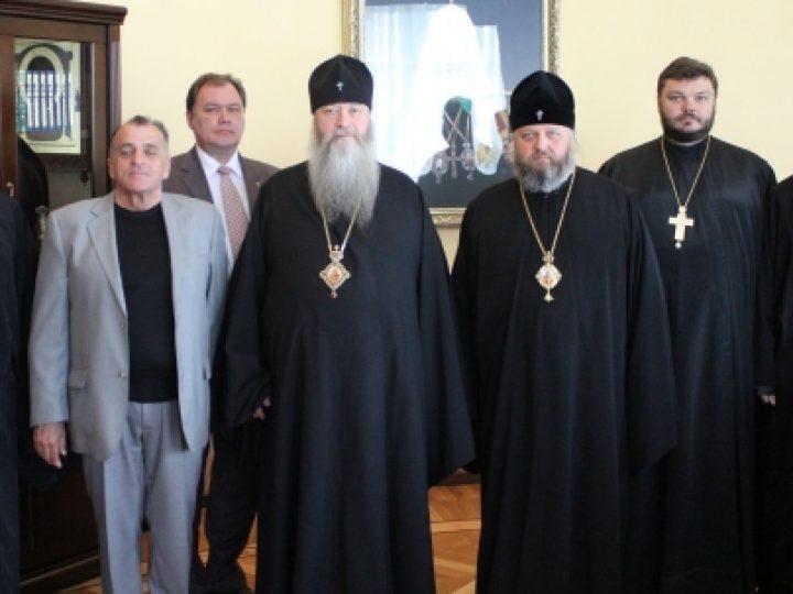 В Кемерове состоялась встреча глав Кузбасской и Новосибирской митрополий