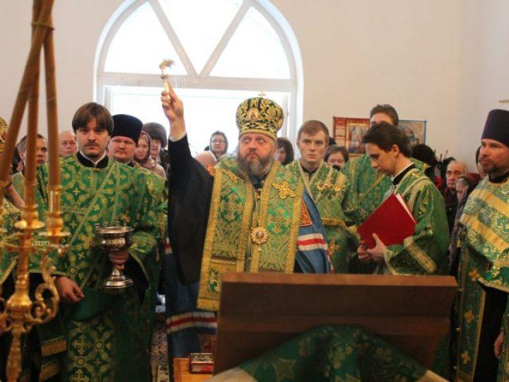 Глава Кузбасской митрополии освятил храм на территории Областной психиатрической больницы