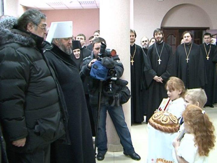 В Кемеровском епархиальном управлении состоялся праздничный Рождественский Архиерейский прием