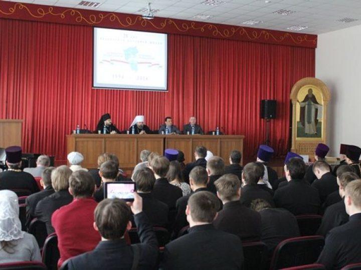 В Кузбасской духовной школе прошли торжества, приуроченные к 20-летию со дня ее основания