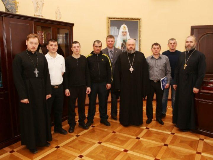 Состоялась встреча митрополита Аристарха с представителями некоммерческой организации «Причал»