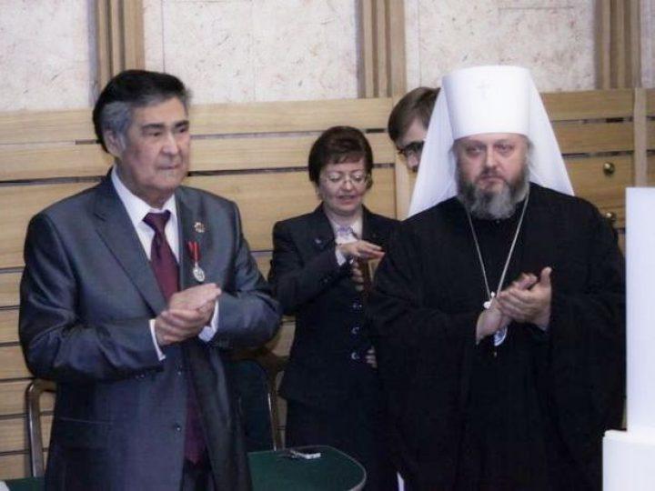Губернатор А.Г. Тулеев и митрополит Аристарх обсудили кузбасскую акцию «Молитва в Поднебесье»