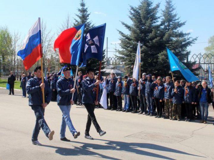 В Кемерове прошел Георгиевский парад православных следопытов Кузбасса