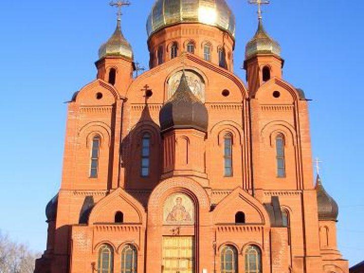 В день памяти Всех святых, в земле Русской просиявших, митрополит Аристарх совершил Литургию в Знаменском соборе Кемерова
