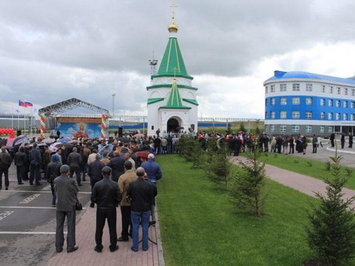 Глава Кузбасской митрополии освятил храм, заложенный Патриархом Кириллом