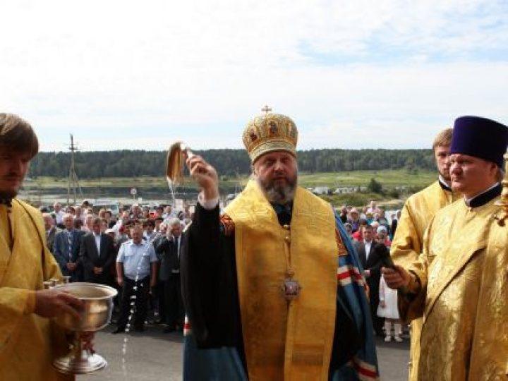 Управляющий Кемеровской епархией освятил храм-часовню в селе Верх-Чумыш