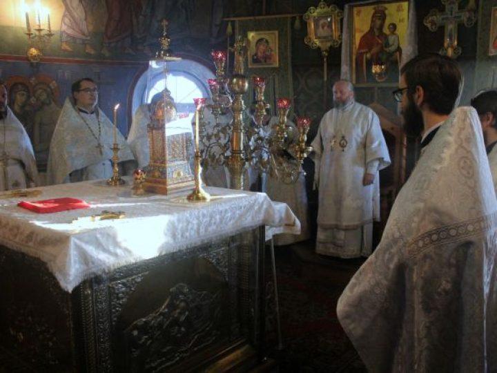Управляющий Кемеровской епархией совершил Литургию в храме Киселевска