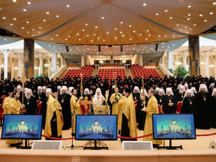 Архипастыри Кузбасса принимают участие в Архиерейском Совещании Русской Православной Церкви