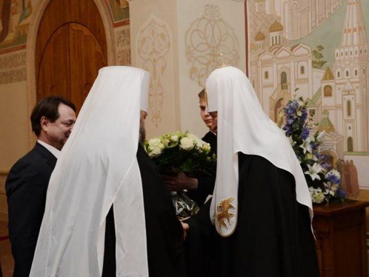 Делегация Кемеровской области поздравила Патриарха Кирилла с шестой годовщиной интронизации