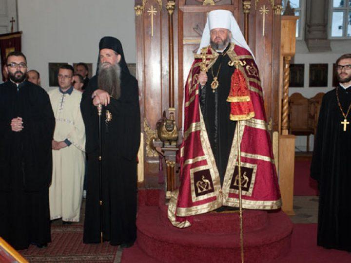 Митрополит Аристарх принял участие в торжествах по случаю дня памяти одного из самых почитаемых святых Сербской Православной Церкви