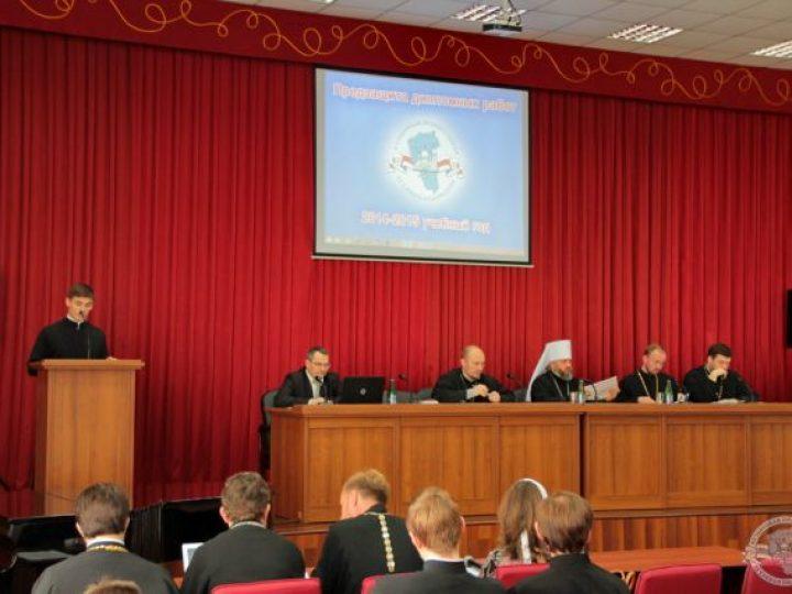Митрополит Аристарх возглавил работу Комиссии по защите дипломных работ учащимися Кузбасской семинарии