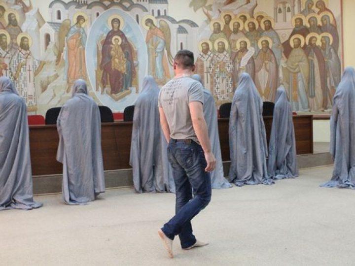 В Кемеровском епархиальном управлении состоялся показ спектакля о судьбе наркозависимого