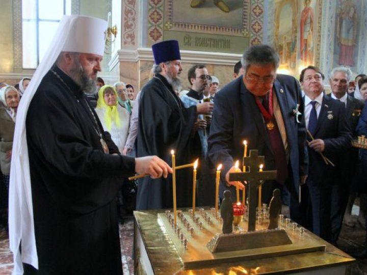 Глава Кузбасской митрополии принял участие в областных торжествах по случаю Дня шахтера