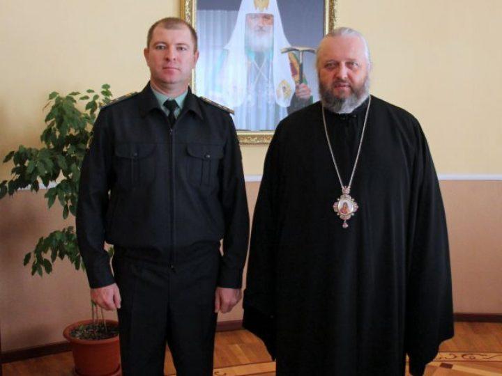 Митрополит Аристарх провел встречу с главным судебным приставом Кузбасса