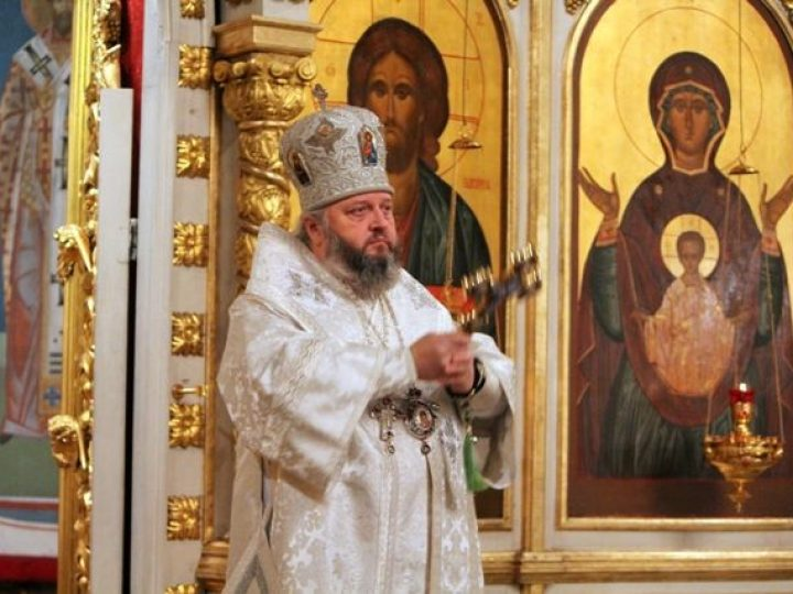 Глава Кузбасской митрополии совершил молебное пение на новолетие в Знаменском соборе Кемерова