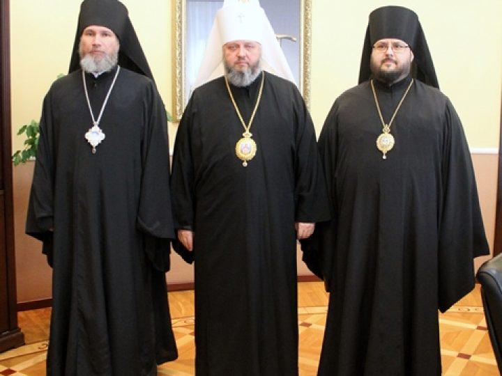 Состоялся очередной Архиерейский Совет Кузбасской митрополии