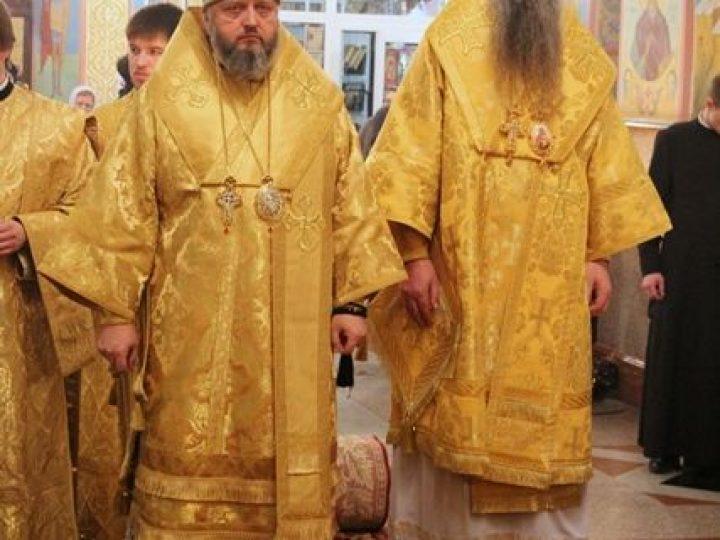 Митрополит Аристарх и епископ Иоанникий совершили всенощное бдение в соборе Рождества Христова Новокузнецка