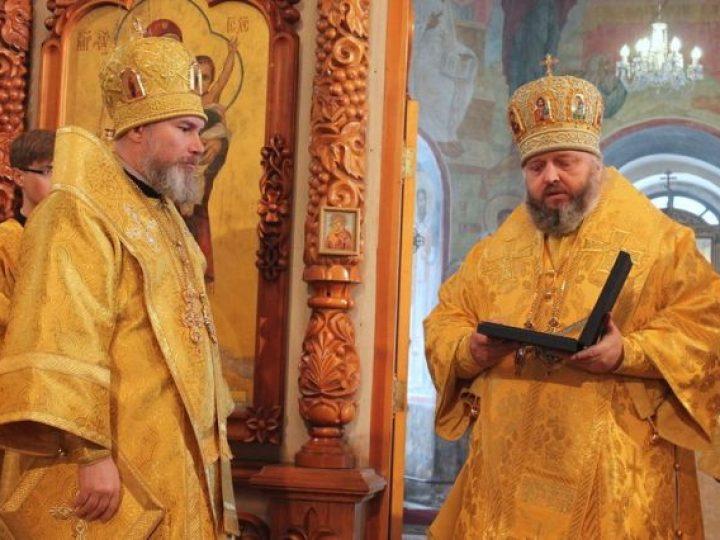 Глава Кузбасской митрополии поздравил епископа Новокузнецкого Владимира с днем тезоименитства