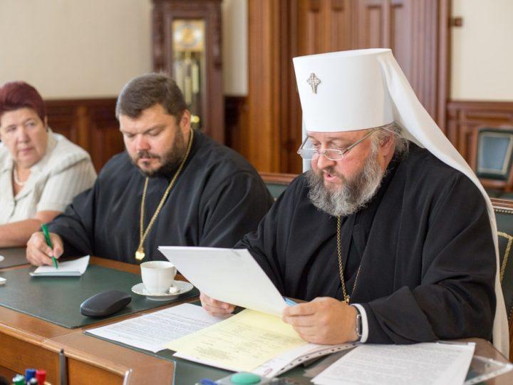 Митрополит Аристарх встретился с губернатором Кемеровской области