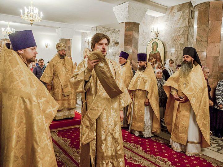 Митрополит Аристарх возглавил молитву о сохранении творения Божия