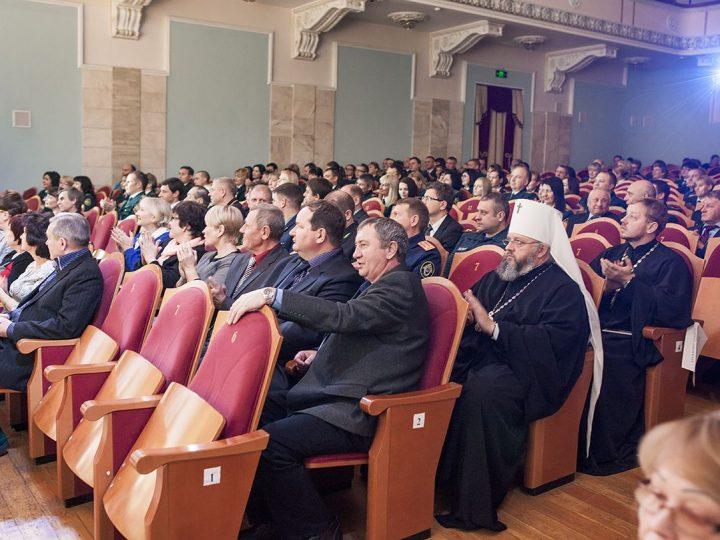 Митрополит Аристарх поздравил с юбилеем сотрудников Федеральной таможенной службы