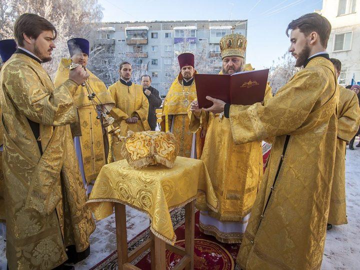 Состоялось Великое освящение храма преподобномученицы Елисаветы в Ленинске-Кузнецком