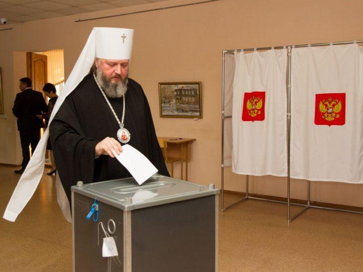 Глава Кузбасской митрополии принял участие в выборах ректора Кемеровского государственного института культуры
