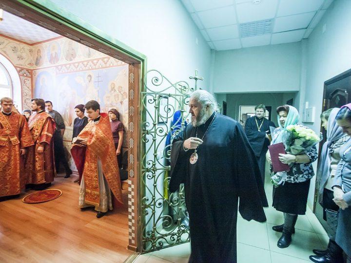 В Кузбассе молитвенно прославили великомученицу Екатерину