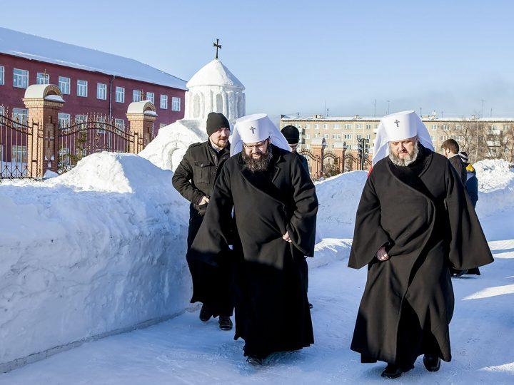 Митрополит Аристарх и митрополит Исидор встретились с учащимися семинарии