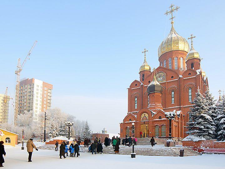 В первый день 2017 года митрополит Аристарх совершил Литургию в Кафедральном соборе