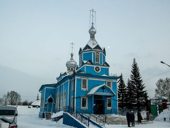 Митрополит Аристарх совершил Великую вечерню в Покровском храме Прокопьевска