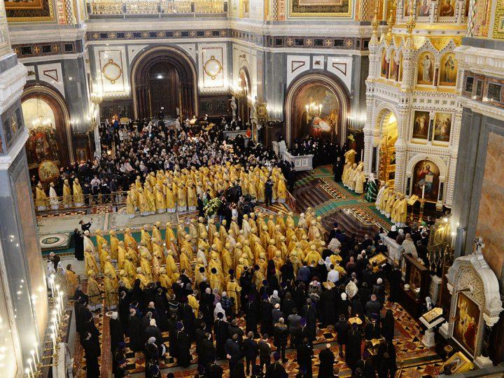 Архиереи Кузбасской митрополии приняли участие в торжествах по случаю годовщины интронизации Святейшего Патриарха