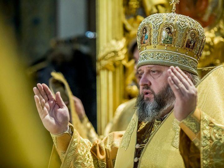 Служение митрополита в Неделю о блудном сыне