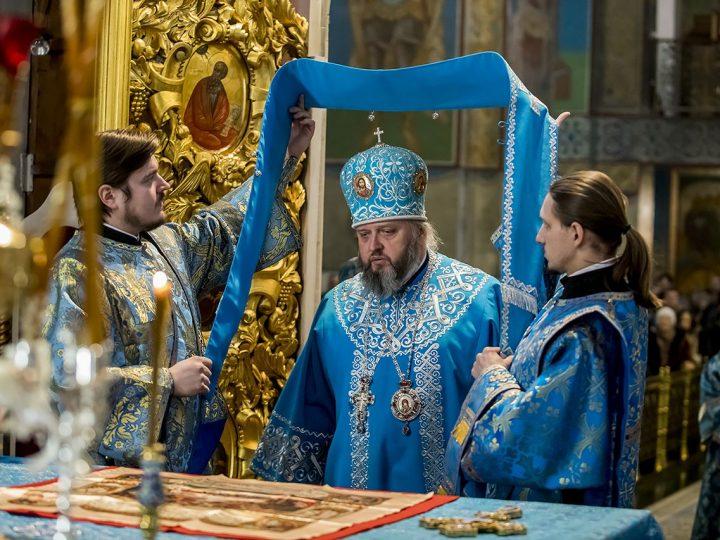 В праздник Сретения митрополит Аристарх совершил Литургию в кафедральном соборе