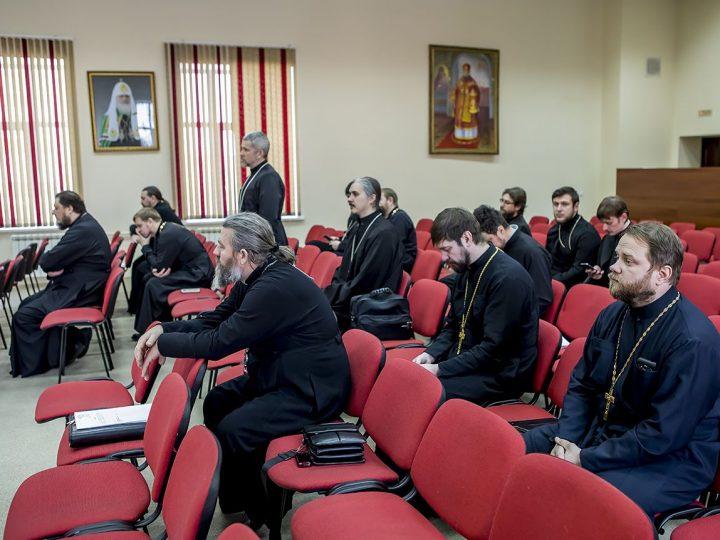 Состоялось очередное заседание Епархиального совета