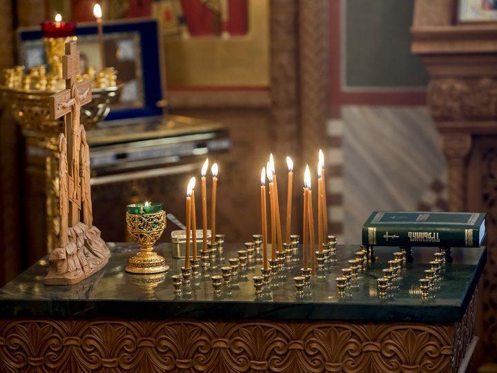 Архиереи митрополии помолились о жертвах взрыва в Петербургском метрополитене