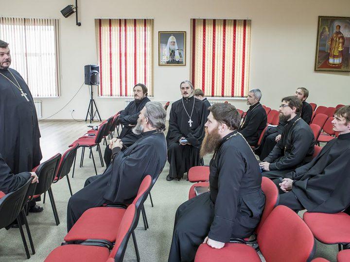 Прошло очередное заседание Епархиального совета