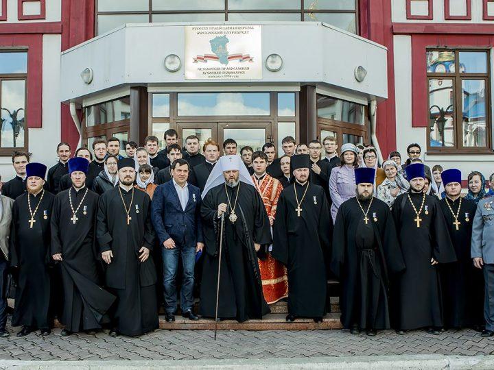 В Кузбасской православной духовной семинарии состоялся торжественный акт