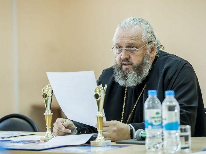 Митрополит Кемеровский и Прокопьевский Аристарх выступил с докладом на ученом совете КемГИК