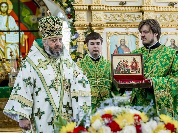 Женскому монастырю села Елыкаево передана копия даров волхвов