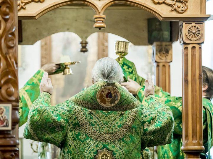 Глава митрополии принял участие в престольном празднике храма преподобного Сергия Радонежского в Комиссарово