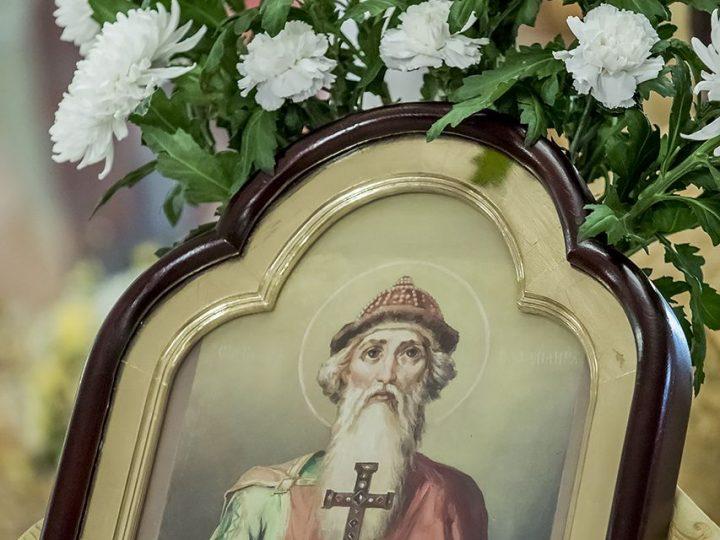 Пятилетие митрополии: во Владимирском приделе Знаменского собора совершено Всенощное бдение