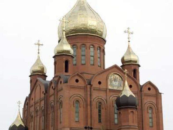 Митрополит Аристарх совершил Всенощное бдение в Знаменском соборе