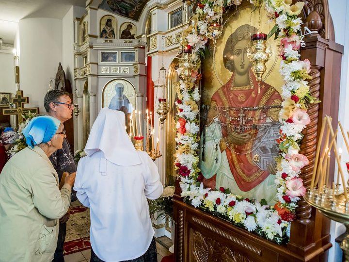 Храм при Кемеровской областной клинической больнице встречает свой престольный день