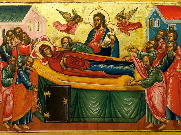 В праздник Успения Пресвятой Богородицы митрополит совершил богослужение в Знаменском соборе
