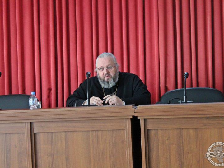 Митрополит Кемеровский и Прокопьевский Аристарх провёл рабочий день в Кузбасской духовной школе