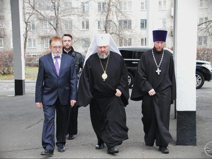 Правящий архиерей рассказал учащимся 64-й школы Новокузнецка о человеческом счастье