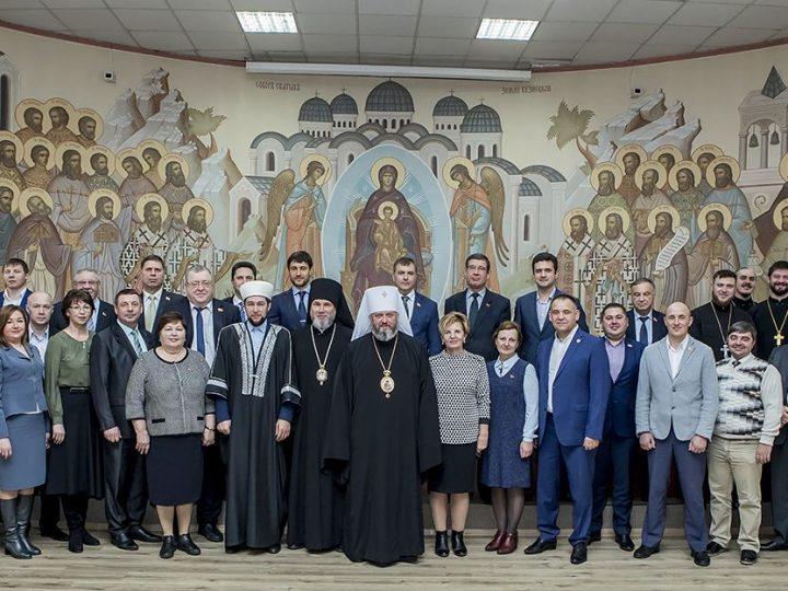 Состоялась встреча кузбасского духовенства с депутатами областного Совета